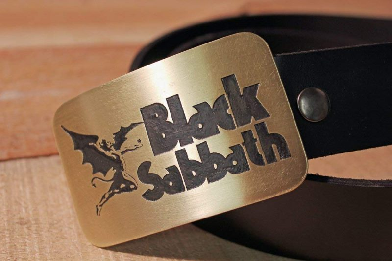 Black Sabbath - Metal Belt Buckle