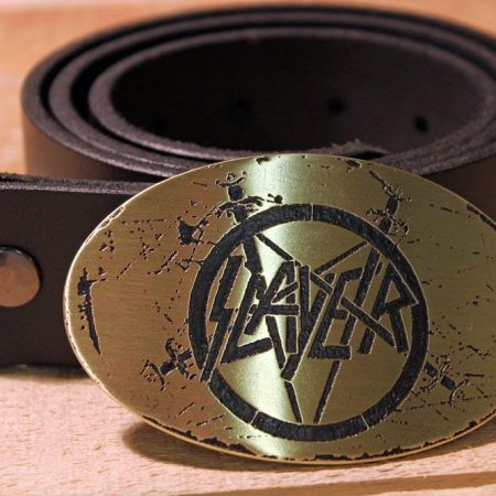 Slayer - Metal Belt Buckle