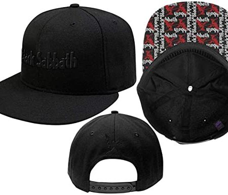 Black Sabbath Logo & Demon - Gorra