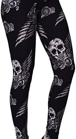 leggings calavera