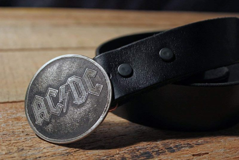 AC/DC - Metal Belt Buckle