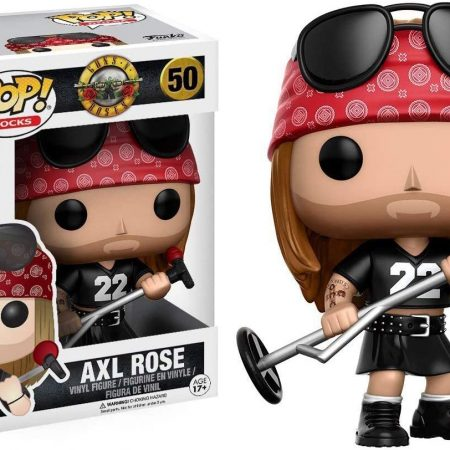 Funko Pop Rocks - Axl Rose