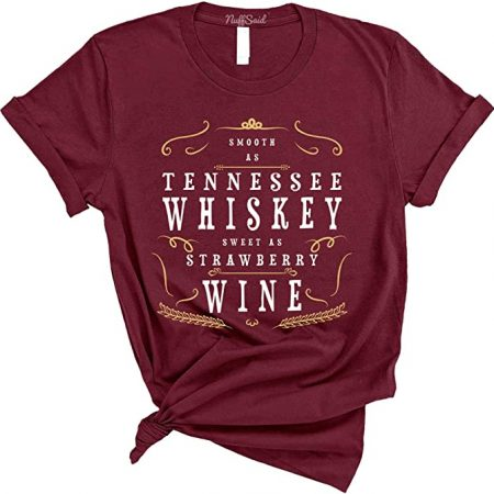 Tennessee Whiskey camiseta para mujer
