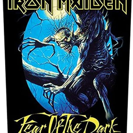 "Iron Maiden "" fear of the dark"" - parche oficial"