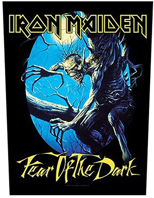 """Iron Maiden """" fear of the dark"""" - parche oficial"""