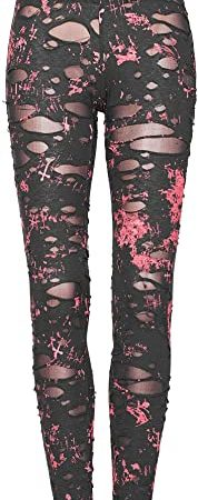 Punk Rave - Leggings de malla