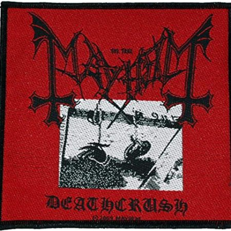 "Mayhem ""Deathcrush"" - Parche"