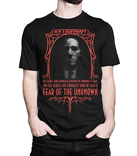 H. P. Lovecraft - Camiseta