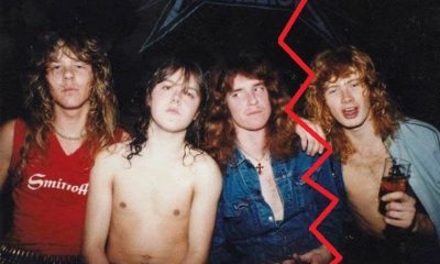 Metallica and Dave Mustaine