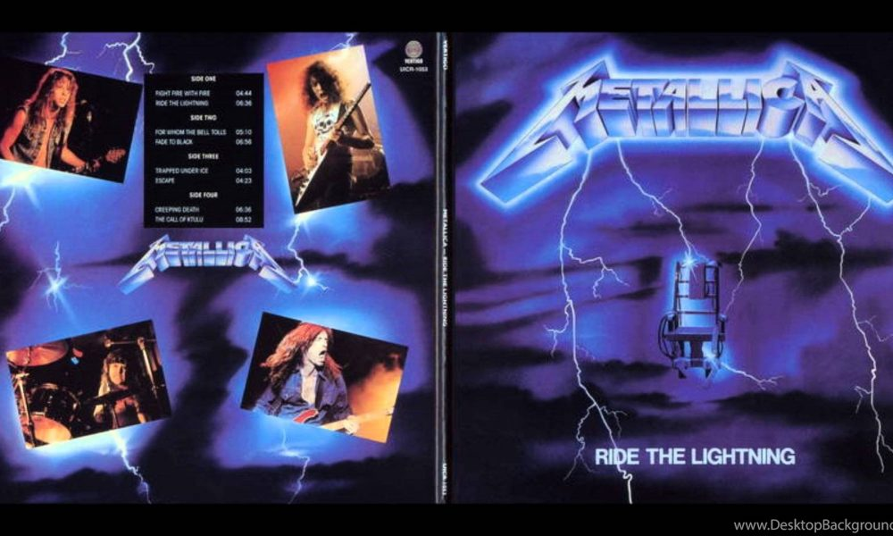 Metallica era Ride The Lightning