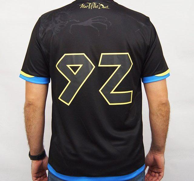 Camisa de Futebol Iron Maiden W A Sport - Fear Of The Dark