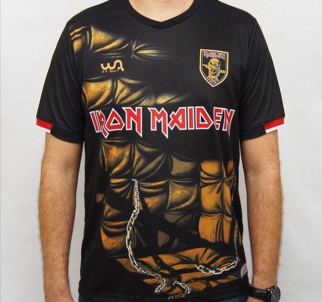 Camisa de Futebol Iron Maiden W A Sport – Piece Of Mind