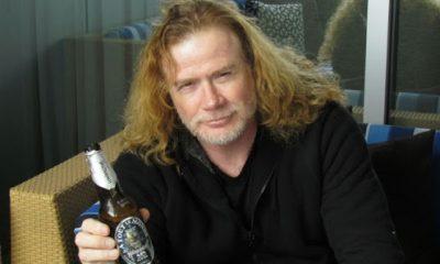 dave mustaine cerveza megadeth