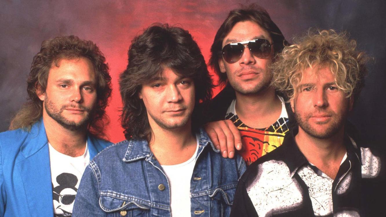 Sammy Hagar con Van Halen
