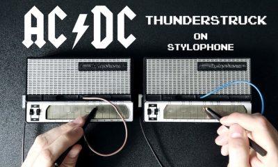 AC/DC stylophone