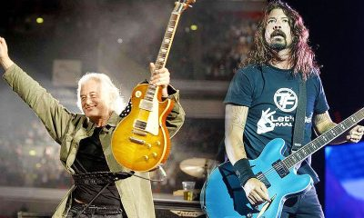 Jimmy Page Dave Grohl