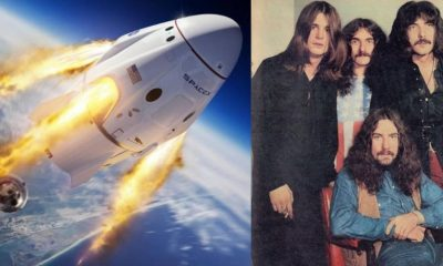 space x black sabbath