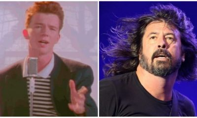 Rick Astley Foo Fighters