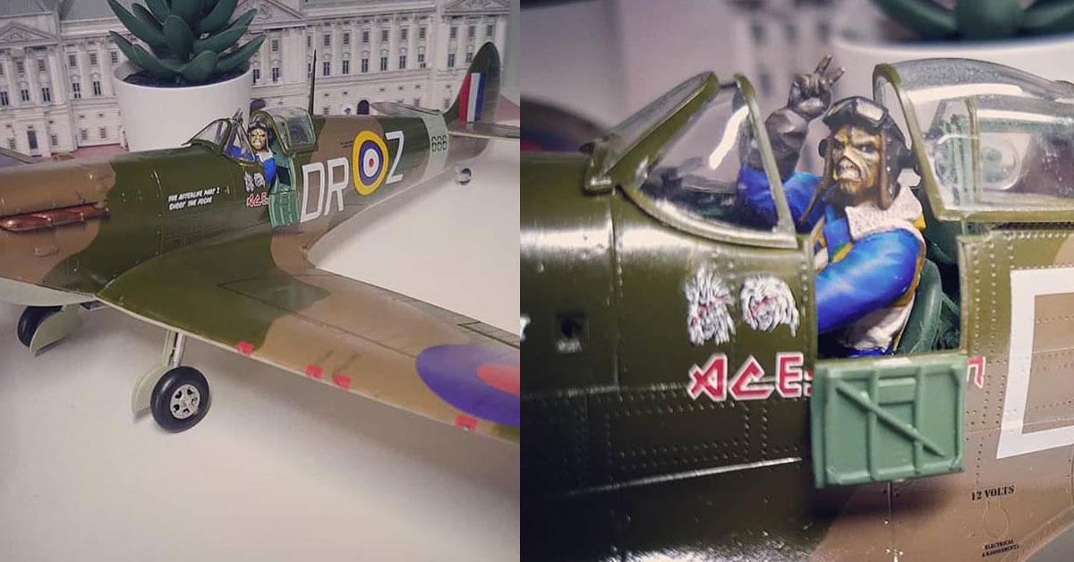iron maiden spitfire