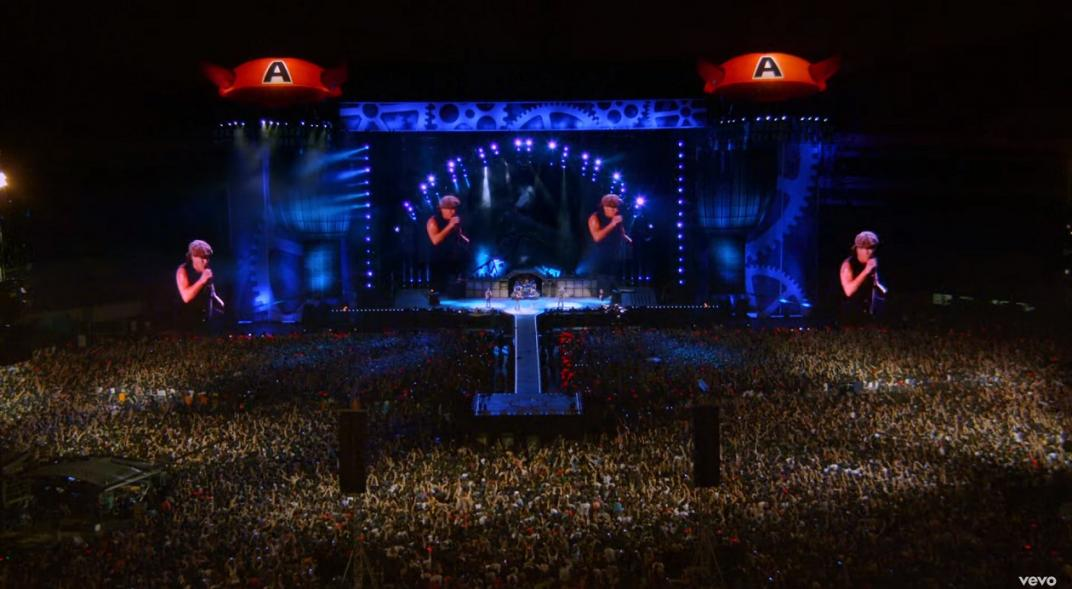 AC/DC Show River Plate