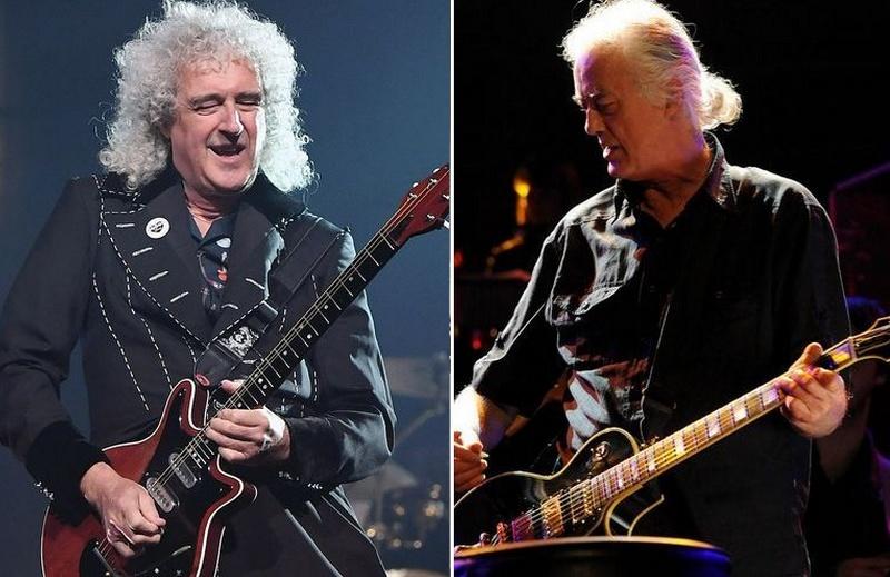 Brian May Led Zeppelin