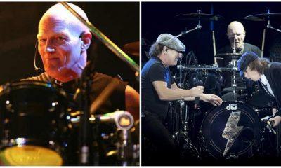 Chris Slade baterista AC/DC