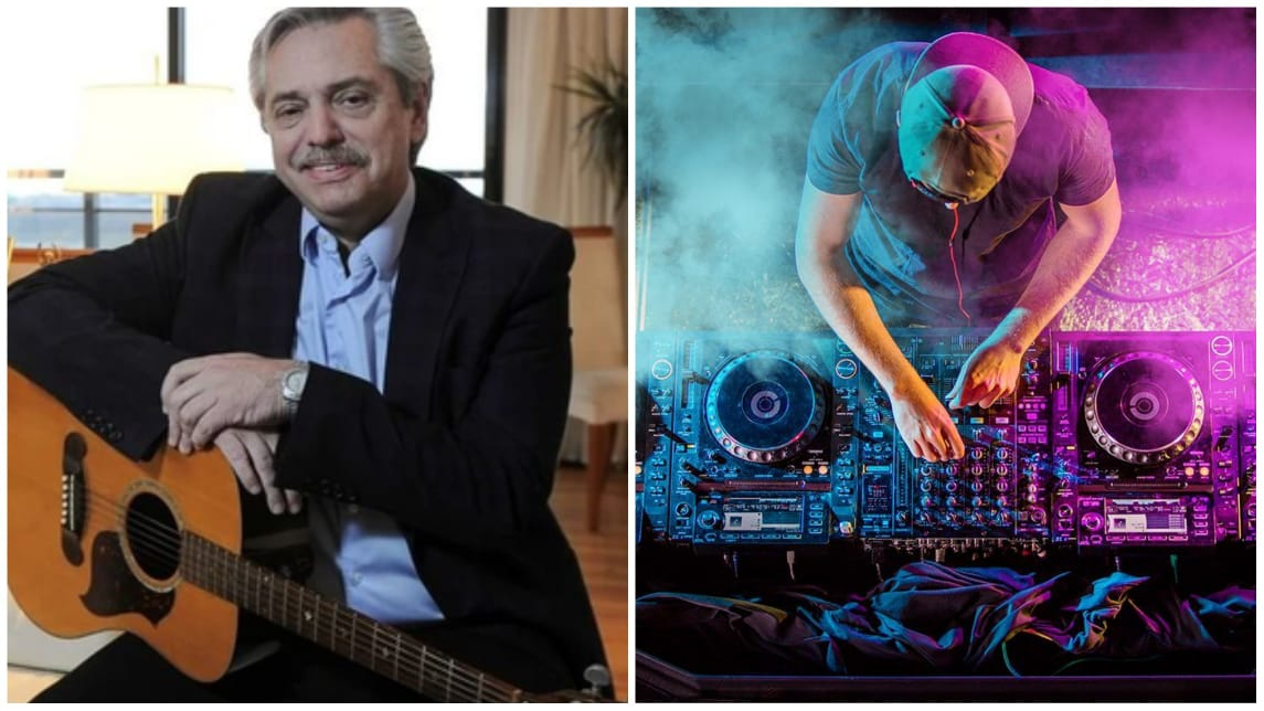 Presidente Argentina música electrónica