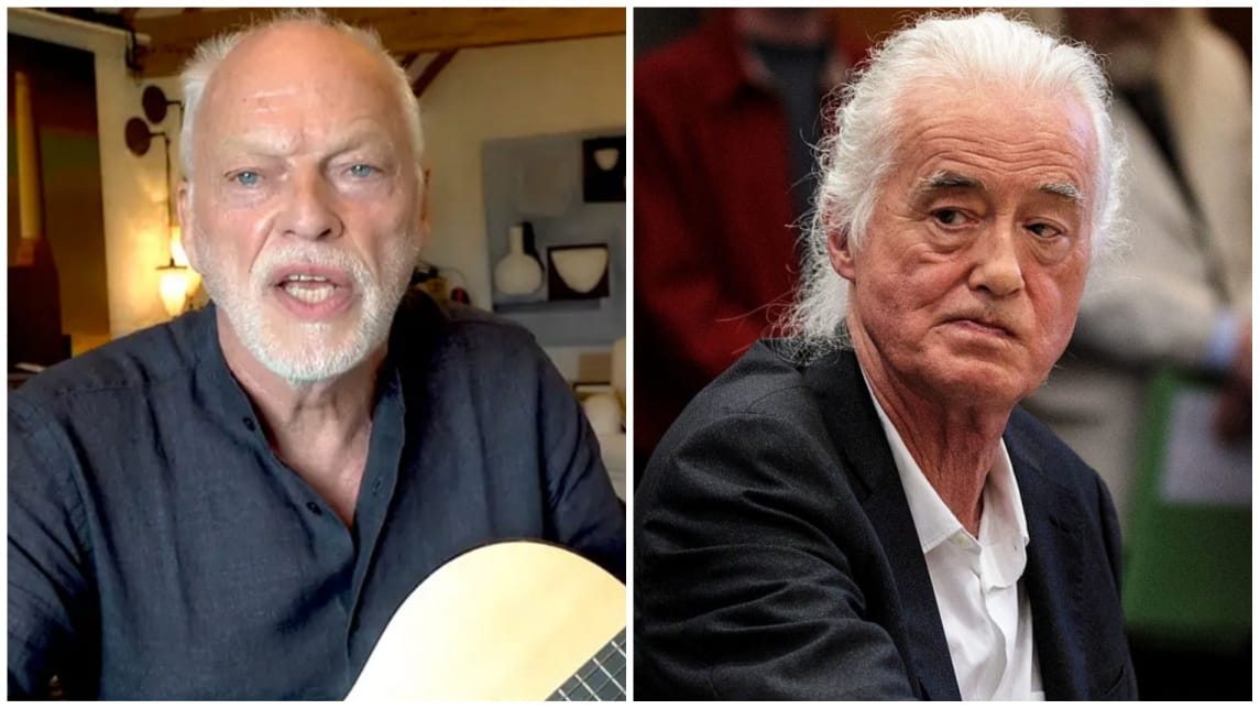 David Gilmour Jimmy Page