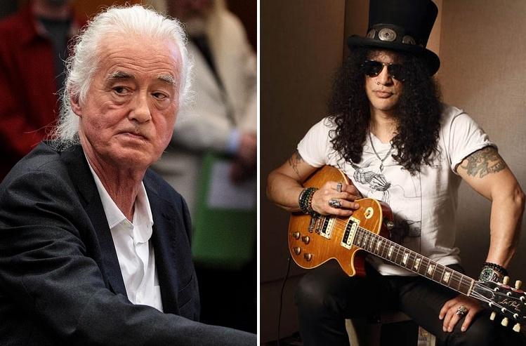 Slash Jimmy Page