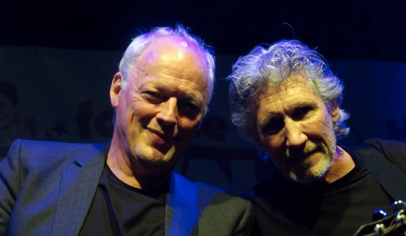 Roger Waters Davil Gilmour