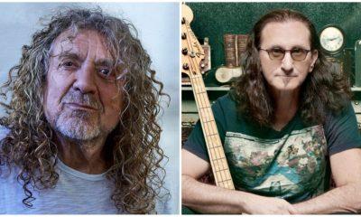 Robert Plant Geddy Lee