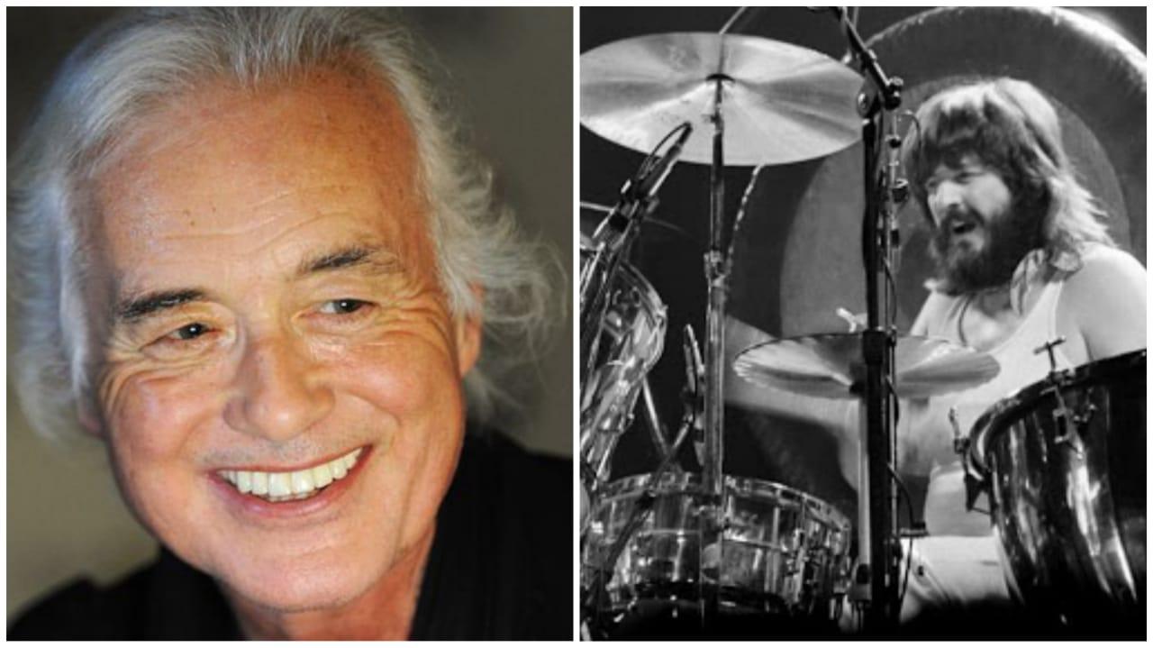 Jimmy Page John Bonham