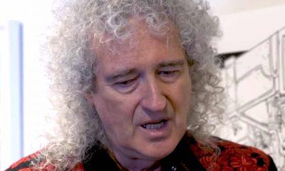 Brian May asusta