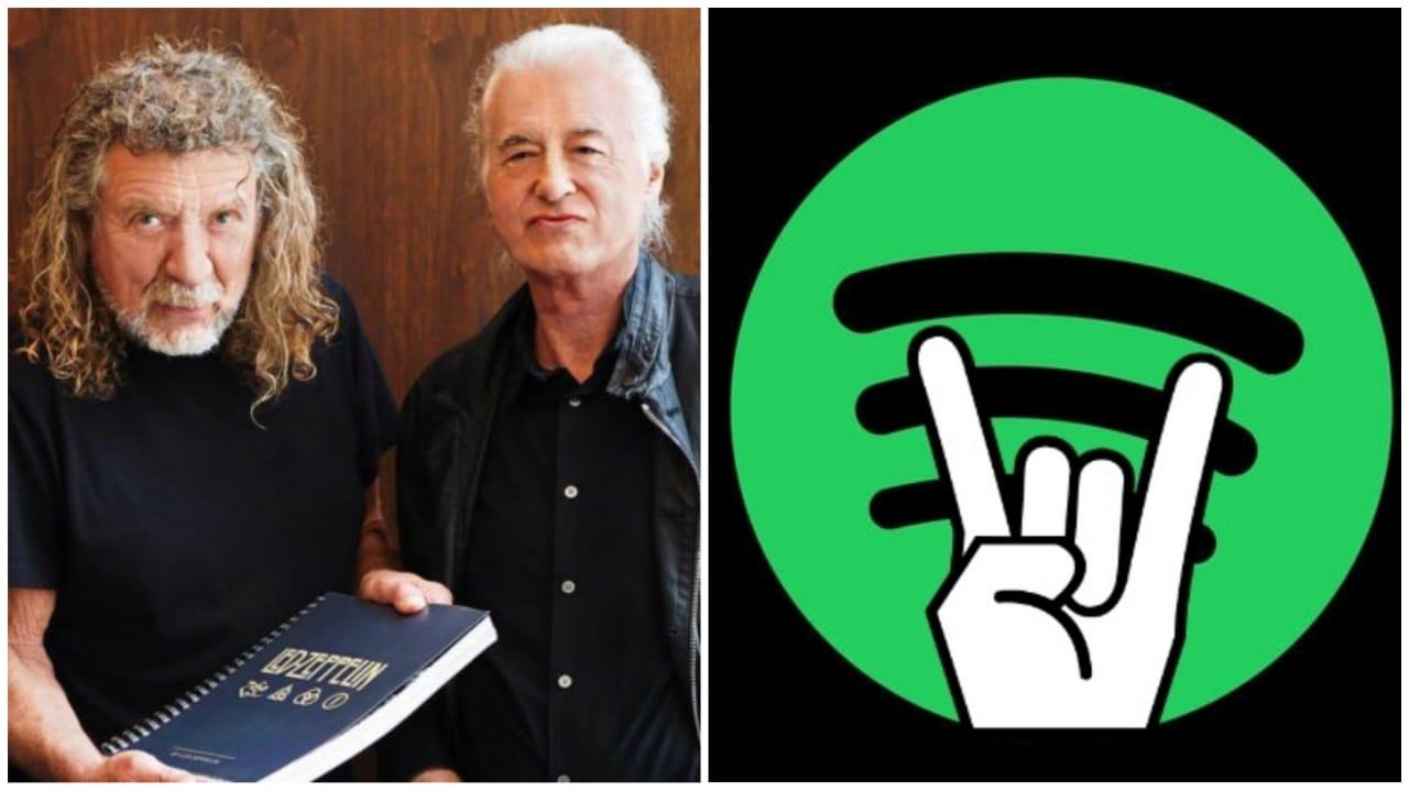 Led Zeppelin Spotify