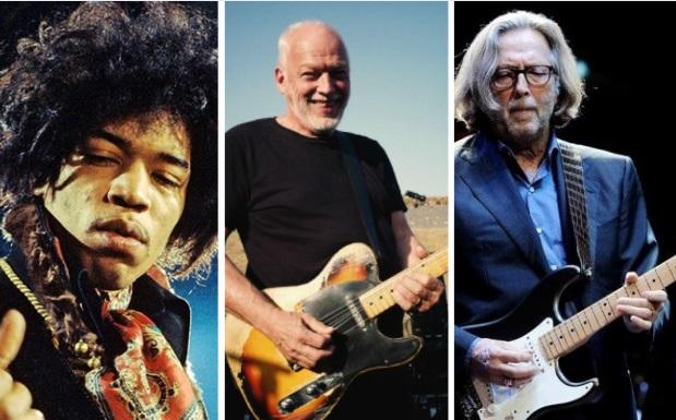 david gilmour guitarristas preferidos