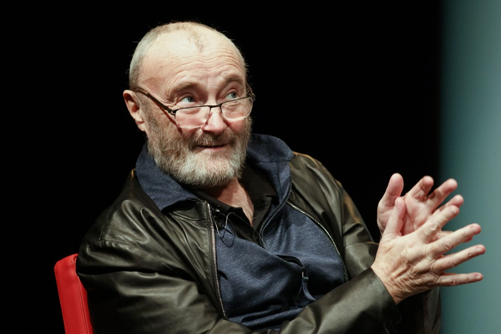 Phil Collins no se bañó