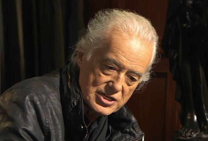 Jimmy Page clásico Zeppelin