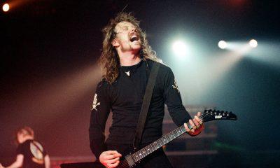 James Hetfield en vivo durante los 90s