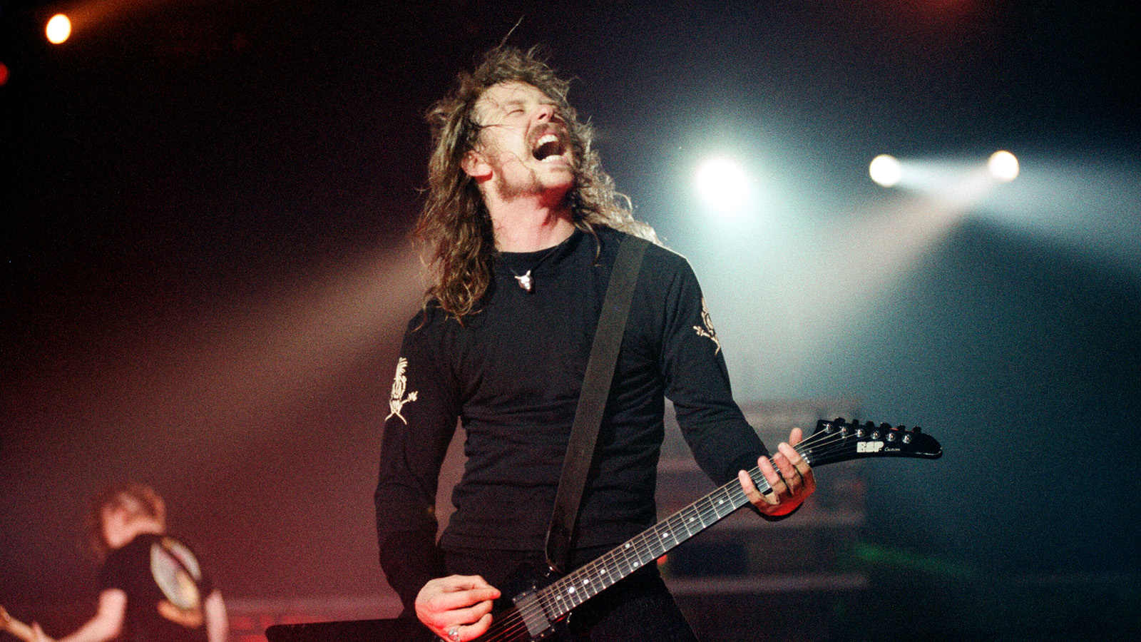 James Hetfield en vivo durante los 90s