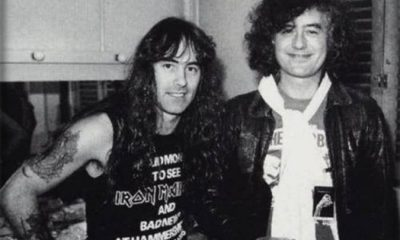 Jimmy Page Iron Maiden