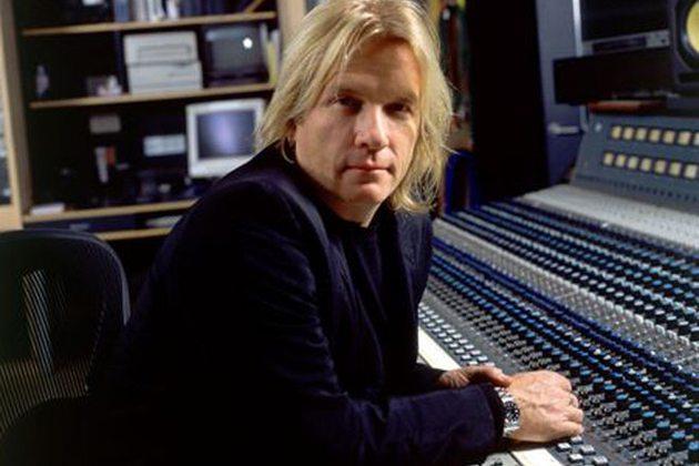 Bob Rock grabando con Metallica
