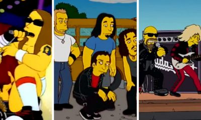 los simpsons rock y metal