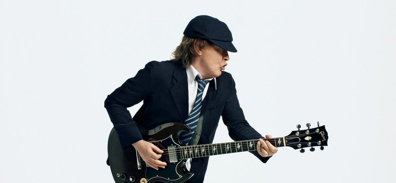 Angus Young Thunderstruck
