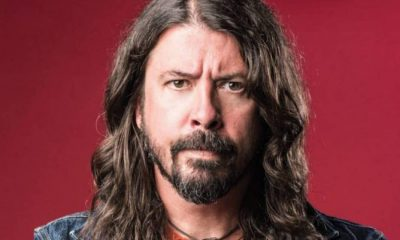 Dave Grohl copiando músico