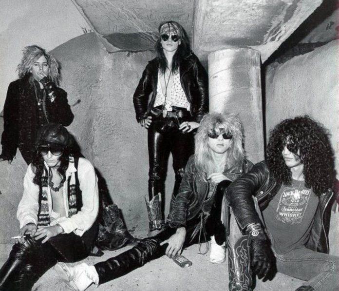 Guns N' Roses en Hollywood
