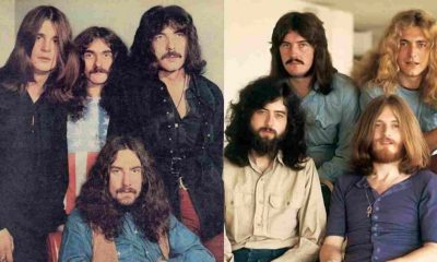 Led Zeppelin y Black Sabbath