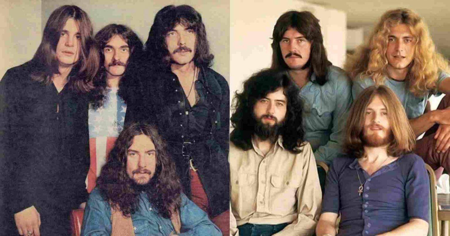 Led Zeppelin y Black Sabbath