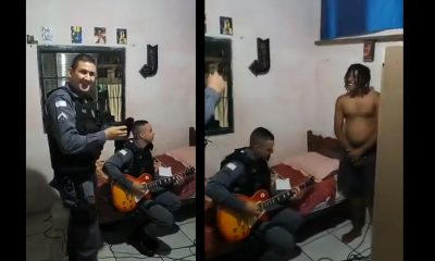 iron maiden guitarra detenido