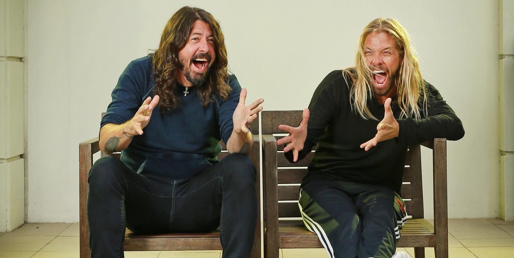 Baterista Foo Fighters mejor del siglo