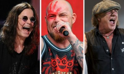 Ozzy Osbourne ACDC Five Finger Death Punch mejores bandas rock